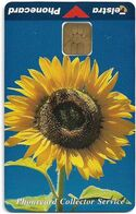 Australia - Telstra (Chip) - P Series 1998 Flowers - Sunflower, Exp. 06.2000, 5$, 414ex, Mint - Australië