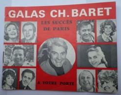 Théâtre D'Orléans Carré Saint-Vincent Programme 1975 Galas CH. BARRET Jean Marais Jean Piat Danielle Darrieux Loui Velle - 1950 - ...
