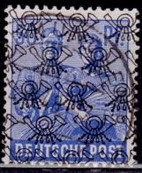 Germany 1948, Reaping Wheat, Overprint B, 50pf, Sc#629, Used - Bizone