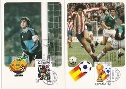 España Nº 2644 Al 2645 En Tarjetas - 1982 – Espagne