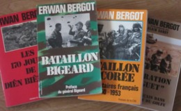 MILITARIA / 4 TITRES Par Erwan BIGOT - Boeken, Tijdschriften, Stripverhalen