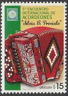 Uruguay 2014, Accordian Festival, MNH Single Stamp - Uruguay