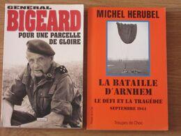 MILITARIA Du XX°siècle / 2 TITRES - Boeken, Tijdschriften, Stripverhalen