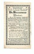 DD215.. JAN-JOSEPH-ROBERT DE BELLEFROID  - Advokaat - + ST. TRUIJEN (ST.TRUIDEN) 1830  (82j) - Devotion Images