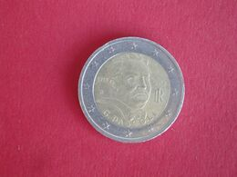 2 Euros Italie 2012 - 100 Ans Du Décès De Giovanni Pascoli - Italia