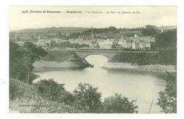29 - DOUARNENEZ - POULDAVID - Vue Générale - Pont Du Chemin De Fer - Douarnenez