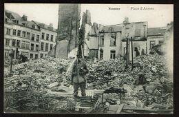 Namur - Place D'Armes - Soldat Allemand - WW1 - 1914-1918 - 2 Scans - Namur