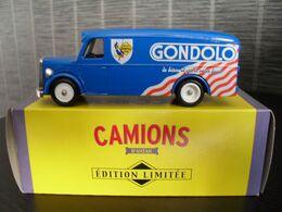 Corgi Camions D'antan, Publicité, Camionnette De Livraison Biscuits Gondolo Man Van 10 Cm - Reclame - Alle Merken