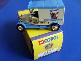 Corgi Camions D'antan, Publicité, Camionnette De Livraison Ford T Van La Vache Grosjean 9 Cm - Reclame - Alle Merken