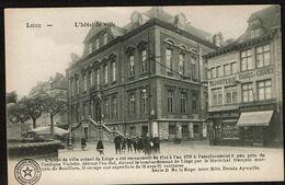 Liège - L'Hôtel De Ville - Bijouterie / Tabacs & Cigares - Edit. Desaix Série D N° 19 - 2 Scans - Luik