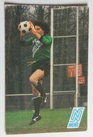 Carte Postale Publicitaire Football Joël Bats Gardien De But A. J. Auxerre équiep De France Chaussures Noël - Sportler