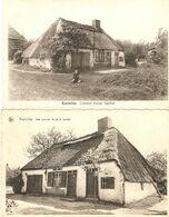 Kasterlee / Casterlee : Lemen Huis Isschot --- 2 Kaarten - Kasterlee