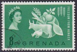 GRENADA 1963 SG 211 8c Used Freedom From Hunger - Grenada (...-1974)