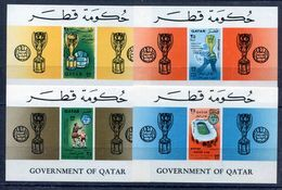Qatar Soccer WC 1966 Set Of 4SS MNH***XVF Football - Coupe Du Monde