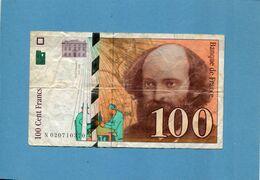 100 Frs Cezanne--1997- état Moyen - 1992-2000 Ultima Gama
