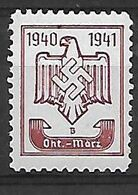 530-ALLEMAGNE-III REICH-1940-1941 Neuf ** - Germany