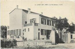 06 - JUAN-les-PINS - La Villa Djénane. CPA Ayant Circulé, BE. - Other Municipalities