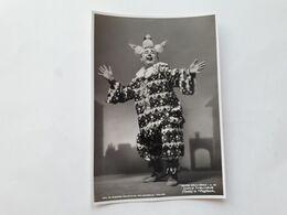 """FOTO CANTANTI D'OPERA AL TEATRO LA SCALA DI MILANO - 1942 - CARLO TAGLIABUE In """"Pagliacci"""" - Opera"""