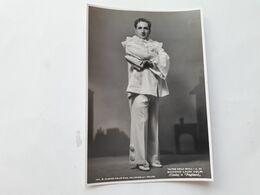 """FOTO CANTANTI D'OPERA AL TEATRO LA SCALA DI MILANO - 1942 - GIACOMO LAURI VOLPI In """"Pagliacci"""" - Opera"""