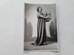 """FOTO CANTANTI D'OPERA AL TEATRO LA SCALA DI MILANO - 1942 - EBE STIGNANI In """"Orfeo"""" - Opera"""