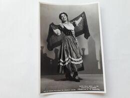 """FOTO CANTANTI D'OPERA AL TEATRO LA SCALA DI MILANO - 1941 - MAFALDA FAVERO In """"Il Campiello"""" - Opera"""