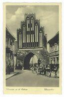 Wismar A. D. Ostsee Wassertor Postkarte Ansichtskarte Nordwestmecklenburg - Wismar