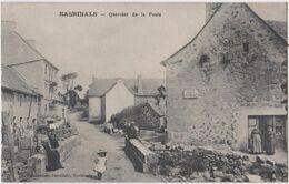 CPA Nasbinals (48)  Quartier De La Poste Recette Buraliste Tabac  Rare  Editeur  Chabannes Buraliste - Frankrijk