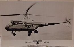 Westland Widgeon (hélicoptère SABENA ) Expo 1958 - Elicotteri