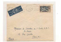 10 OCT 1951  ENVELOPPE DE TANGER  POUR PARIS - Covers & Documents