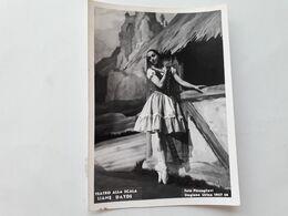 FOTO DI SCENA DI BALLERINE AL TEATRO LA SCALA DI MILANO - Stagione 1957/58 - LIANE DAYDE - Opera
