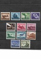 544-ALLEMAGNE-III REICH-1944 Journée Des Héros  YT -791 à 803 Neuf * - Unused Stamps