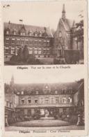Lessines Ollignies  Pensionnat Cour D'Honneur  Vue Sur La Cour Et La Chapelle - Lessines