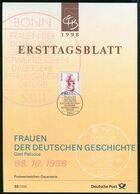 BRD - 1998 ETB 33/1998 # - Mi 2014 - 440Pf Frauen XVIII, Gret Palucca - FDC: Panes