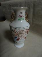 Vintage - Petit Vase Dentelle Décoration Asiatique - Autres