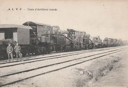 ABL, Armée Belge, Train D'artillerie Lourde , A L V F, Canon - Materiale