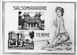 Salsomaggiore Terme (Parma). Vedutine - Pin Up. - Parma