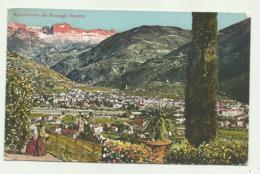 BOLZANO-GRIES DAL PASSAGGIO GUNCINA' 1927   VIAGGIATA  FP - Bolzano (Bozen)
