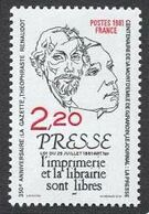 France N° 2143 Neuf ** 1981 - France