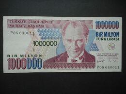 Turkey 1000000 Lira 1999 (P-213a.2) - Turchia