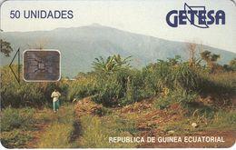 EQG-06 - Landscape - Reverse B - Matt - Guinea Equatoriale