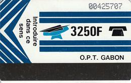 GAB-06 - Blue - Blank Reverse - Gabun