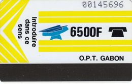GAB-08 - Yellow - Blank Reverse - Gabun