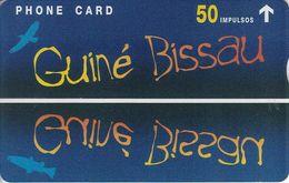 GUB-04 - Guiné Bissau - Blue Card - 803L - Guinée-Bissau