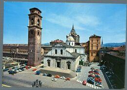 °°° Cartolina - Torino Il Duomo Con La Cupola Della Cappella Santa Sindone Nuova °°° - Churches