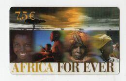 FRANCE CARTE Prépayée AFRICA FOR EVER 7,50€ Date 2005 - France