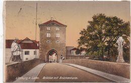 LIMBURG AM LAHN - 1922 - Brücke Mit Brückenturm - Limburg