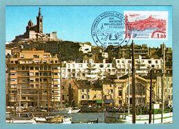 Carte Maximum 1983 - Congrès National De La Fédération Des Sociétés Philatéliques Françaises à Marseille - YT 2273 - 1980-89
