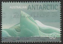 AUSTRALIAN ANTARCTIC TERRITORY-USED 2011 60c Icebergs - Striated Jade Iceberg - Used Stamps