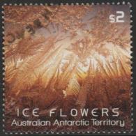 AUSTRALIAN ANTARCTIC TERRITORY-USED 2016 $2.00 Ice Flowers, Brown - Used Stamps