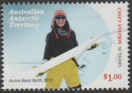 AUSTRALIAN ANTARCTIC TERRITORY-USED 2019 $1.00 Casey Station - Aurora Basin North 2013 - Used Stamps